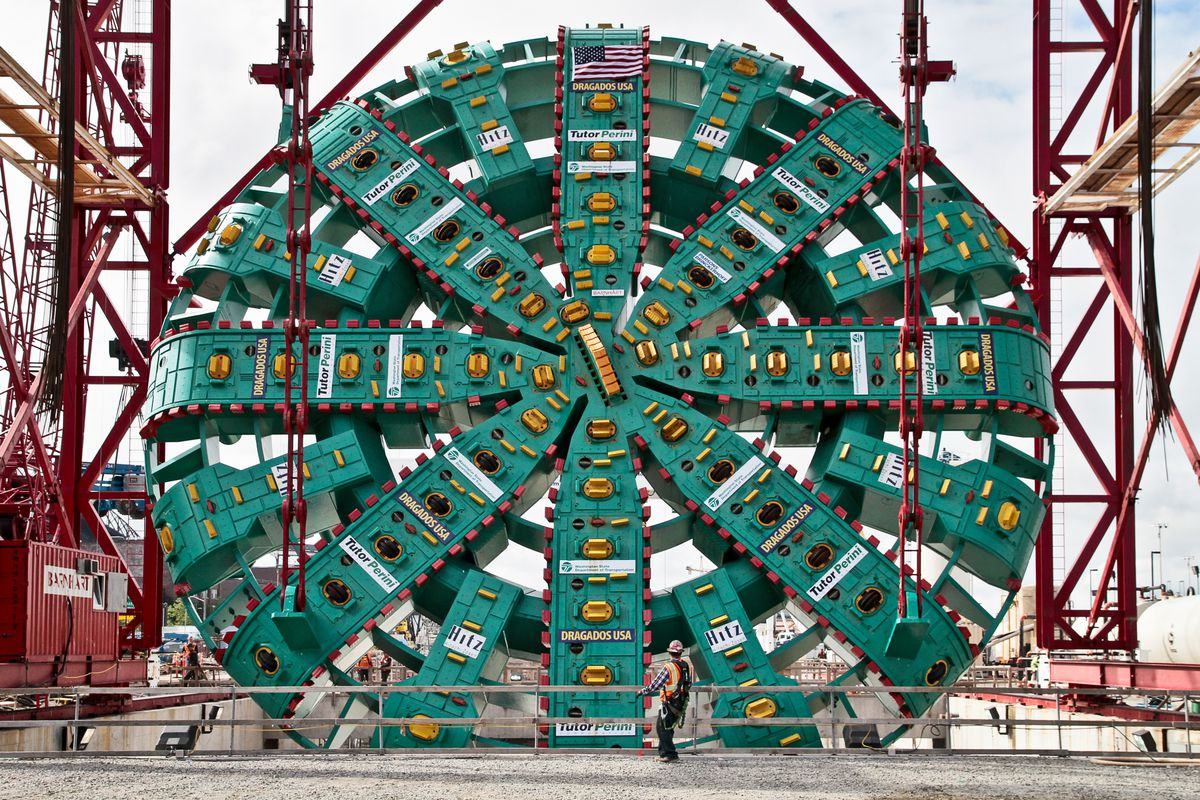 The end is near for Bertha, Seattle's tunnel boring machine