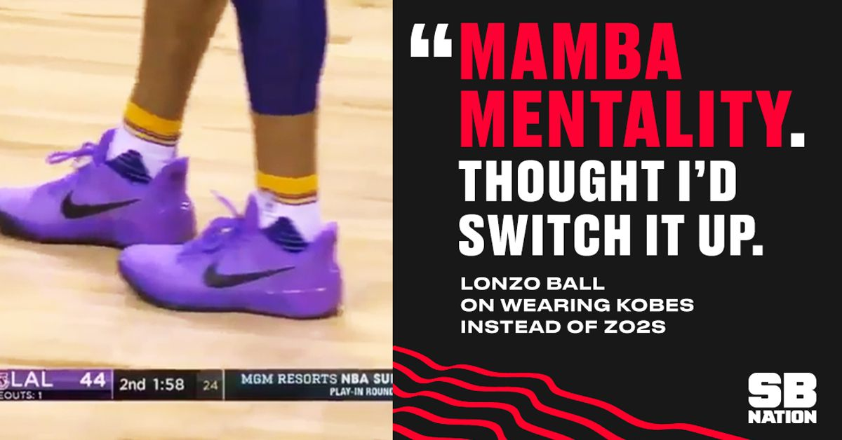Lonzo Ball Says Mamba Mentality Made Him Wear Nikes