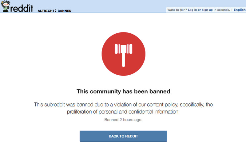 Reddit Bans Two Prominent Alt-Right Subreddits | Lipstick Alley