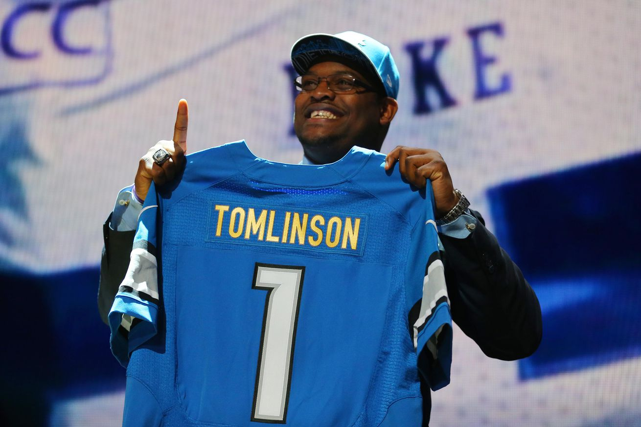 nfl Detroit Lions Laken Tomlinson GAME Jerseys