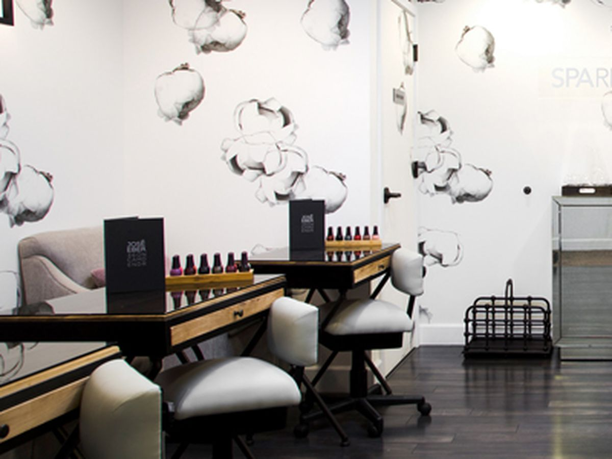 Nine great luxury nail salons for prime pampering in la for 2 the nines salon