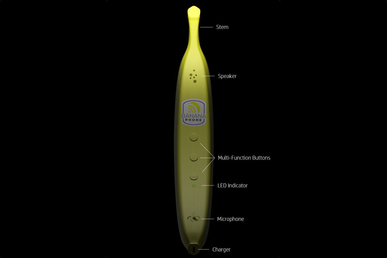 This banana phone was created for those steadfastly dedicated to the memes of yore