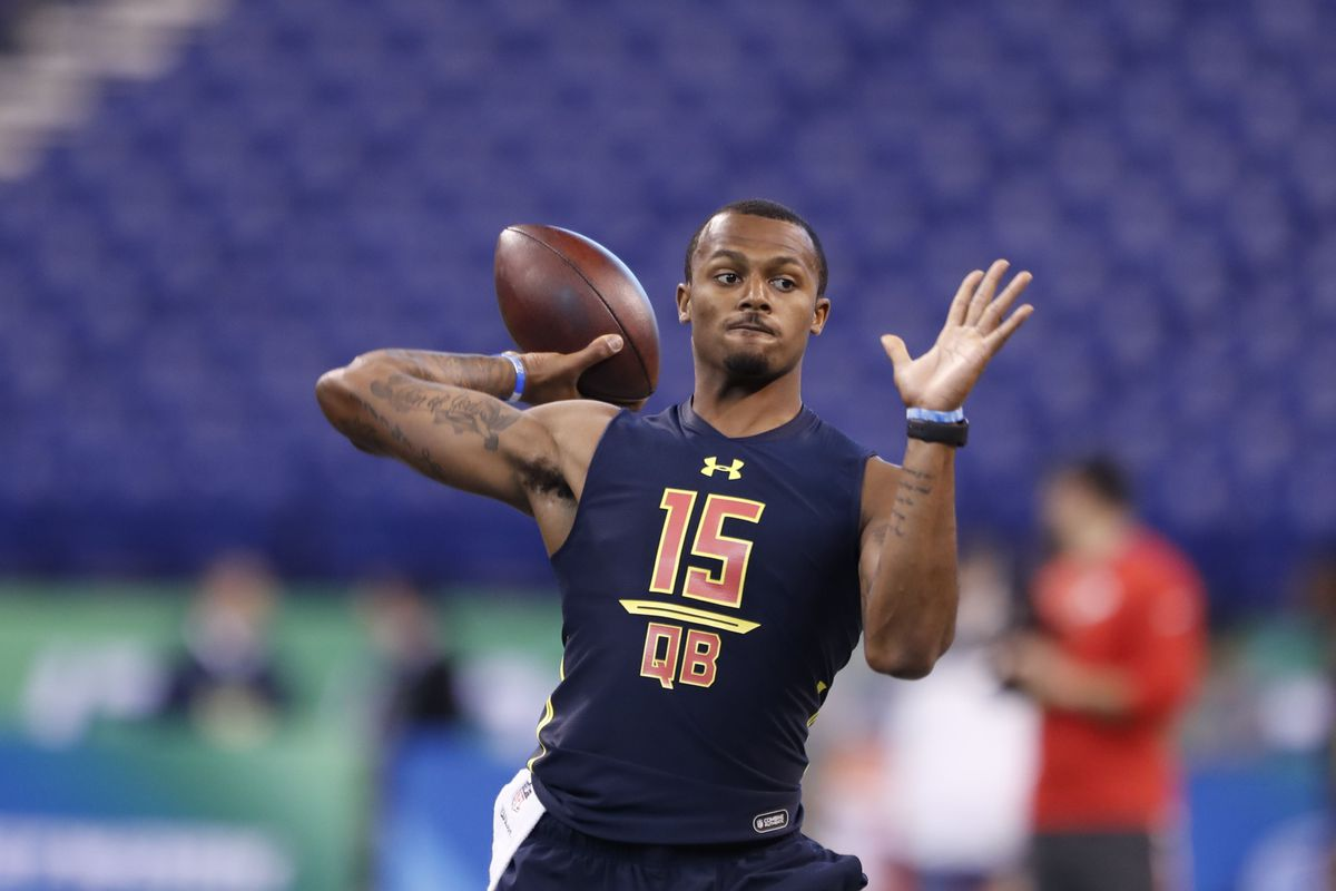 Deshaun Watson is getting a late boost up the board