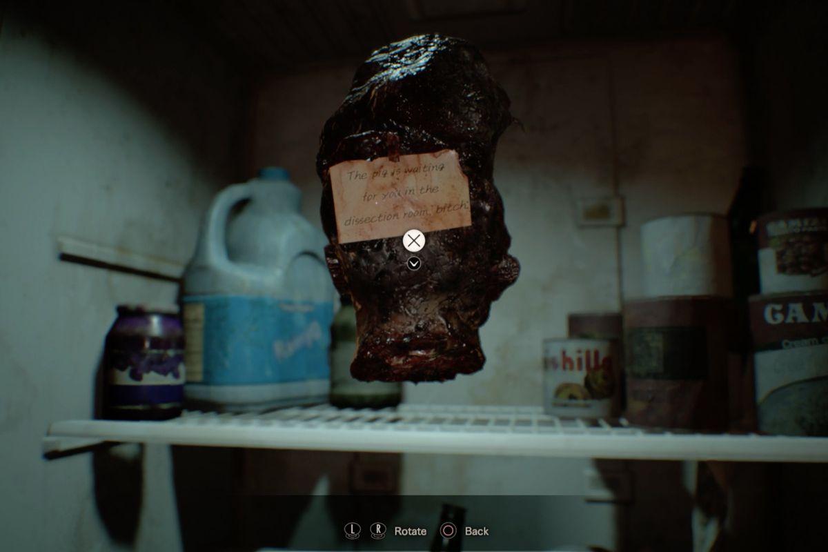 Resident Evil Biohazard Boiler Room