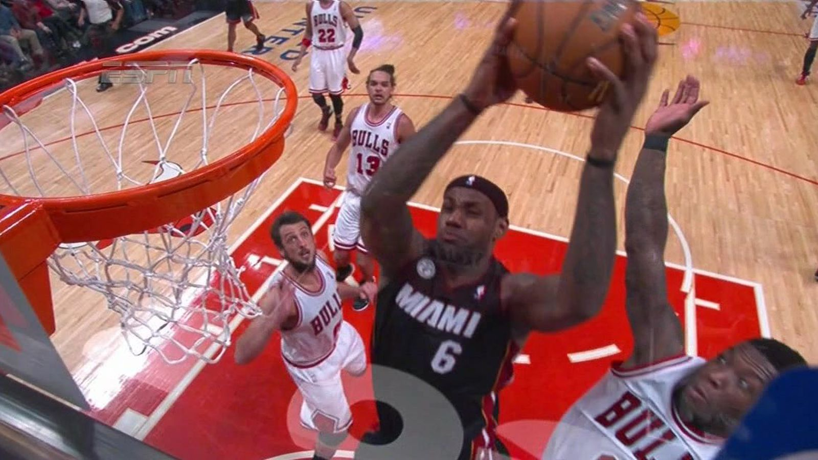 nate robinson blocks lebron james sbnationcom