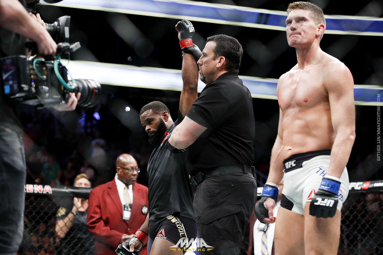Wonderboy vs. Woodley 2 didn't fill the need for intuitive action