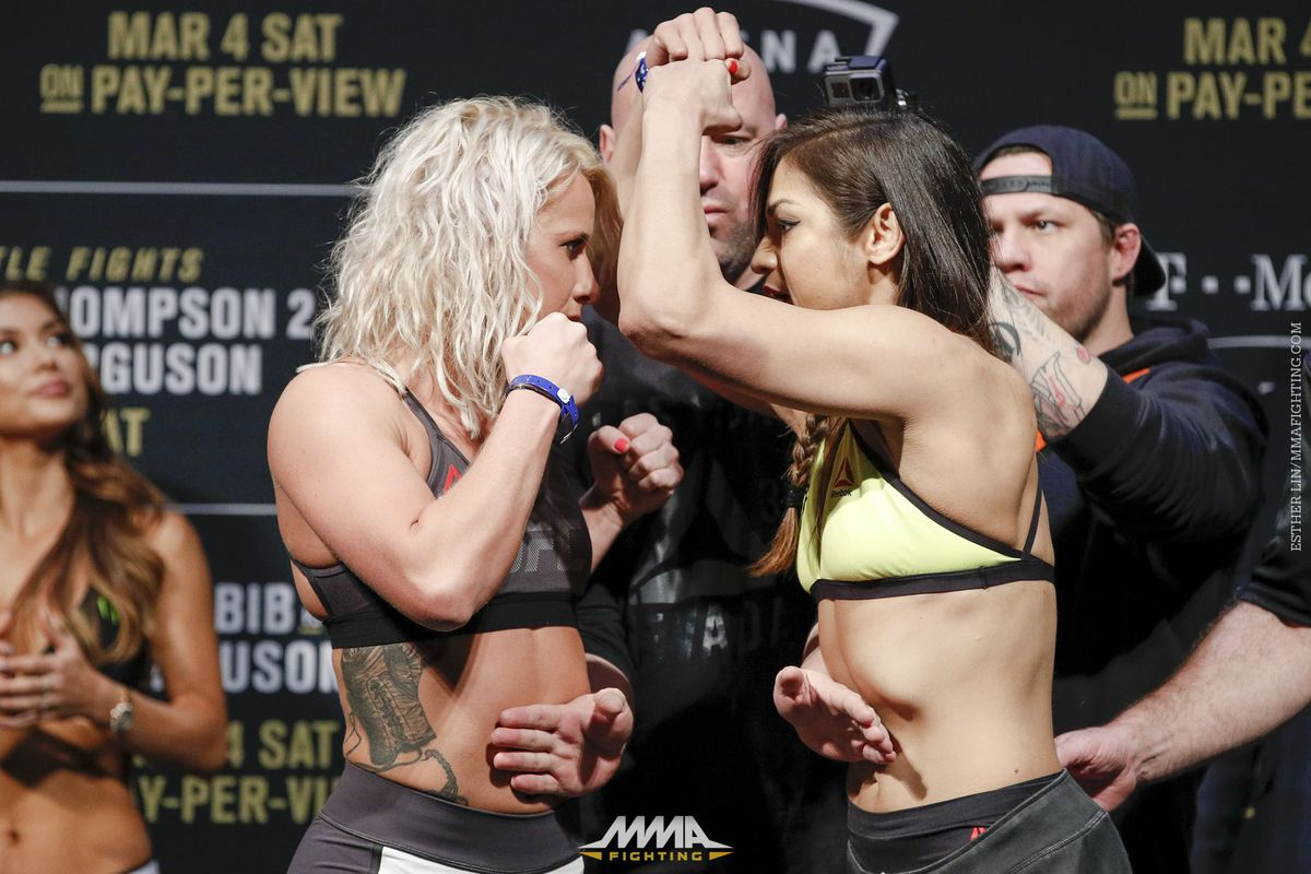 Cynthia Calvillo Submits Amanda Cooper In UFC Debut