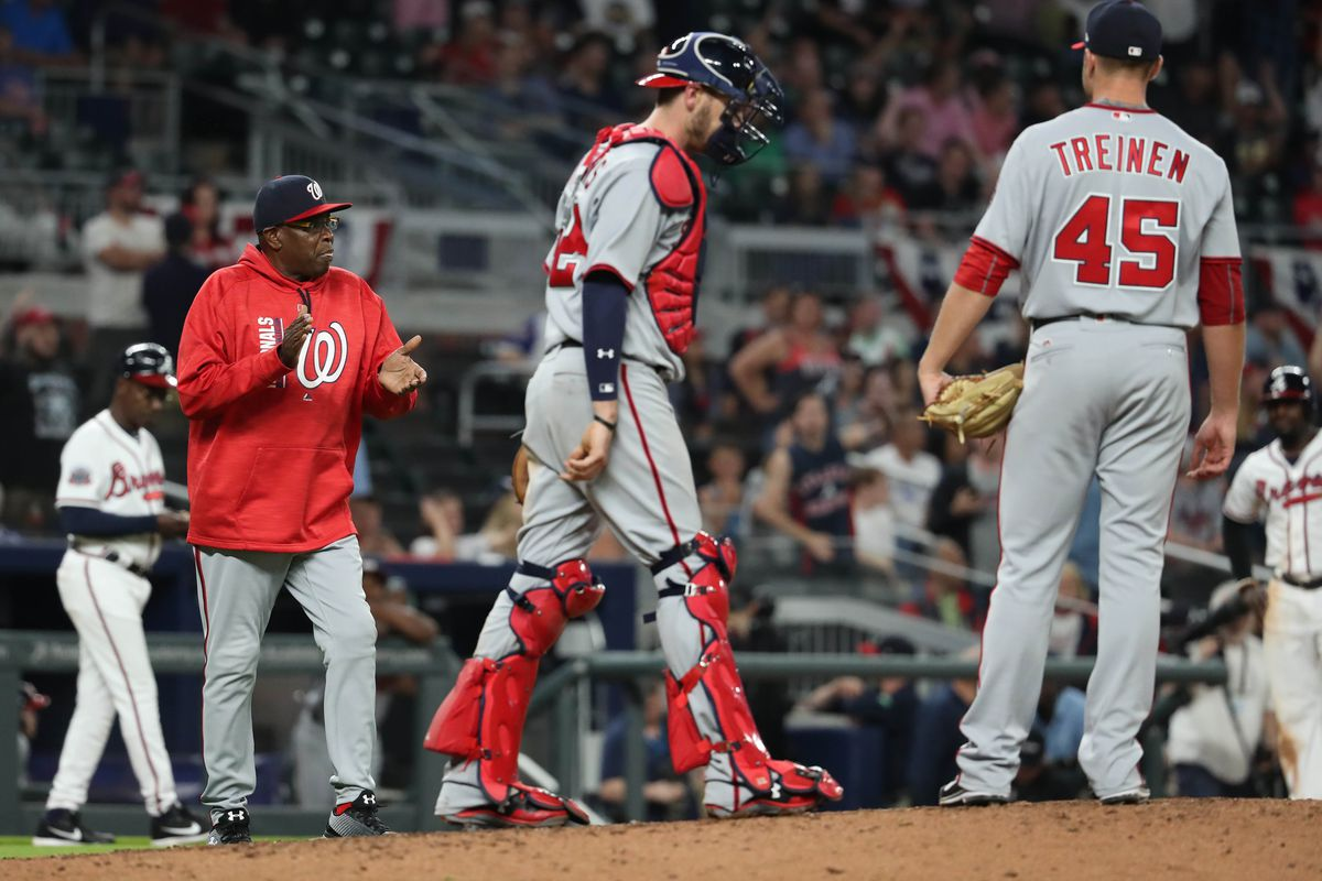 Baker removes Treinen from role as Nationals' closer
