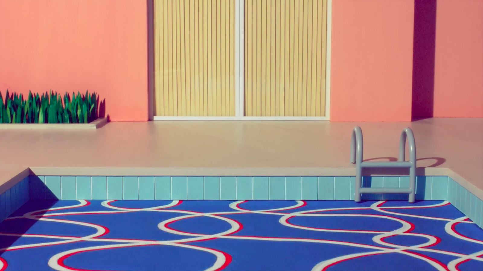 David Hockney S Paintings Of Wealthy California Suburbs Get Stop Motion Animation Treatment Curbed