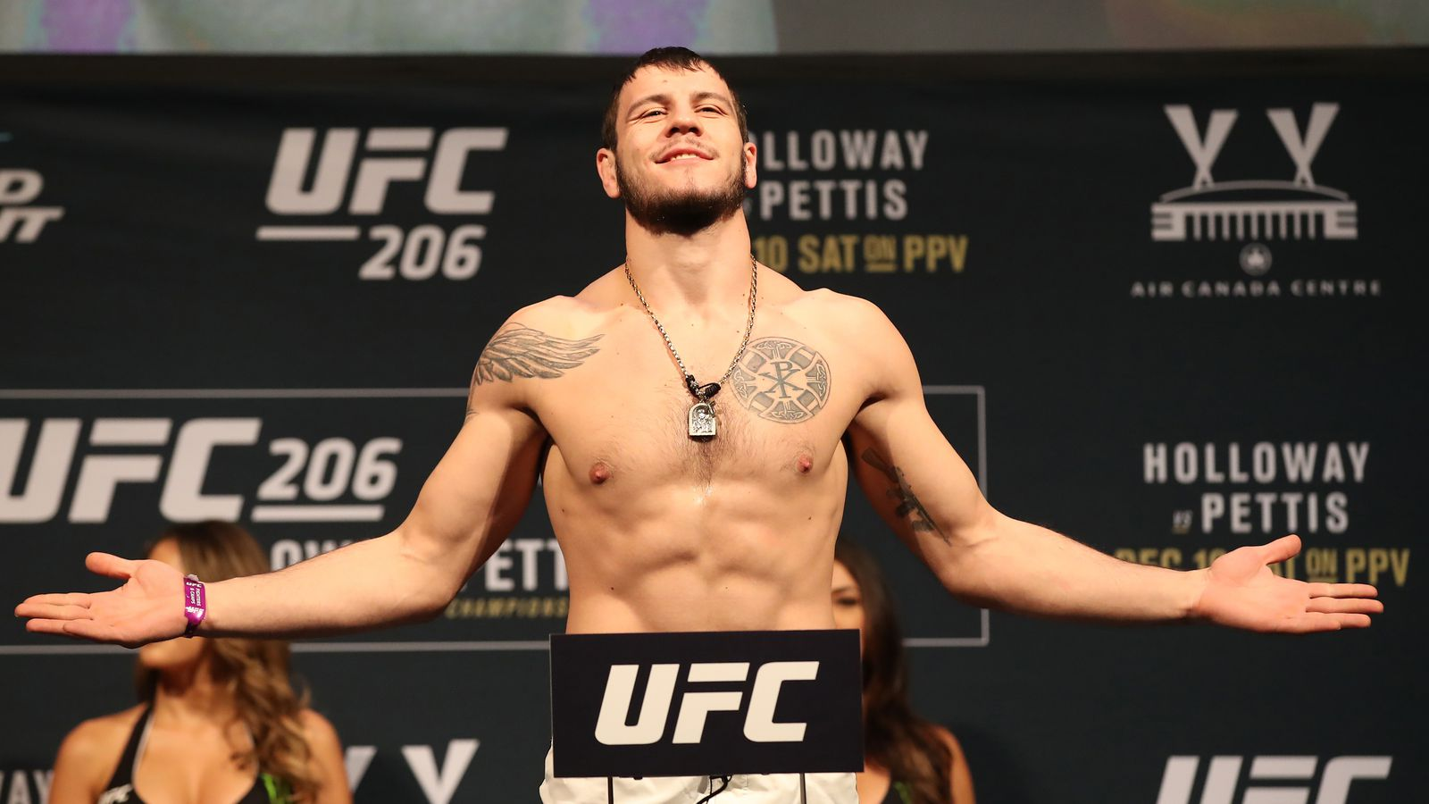 Light heavyweight Nikita Krylov released from UFC contract