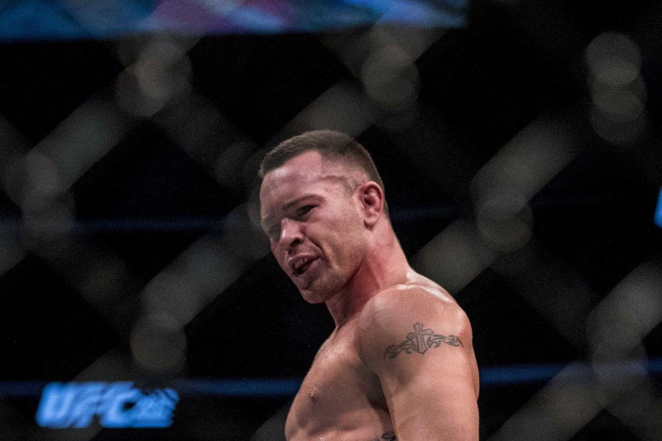 Pic: UFC welterweight Colby Covington begs for a fight on the streets