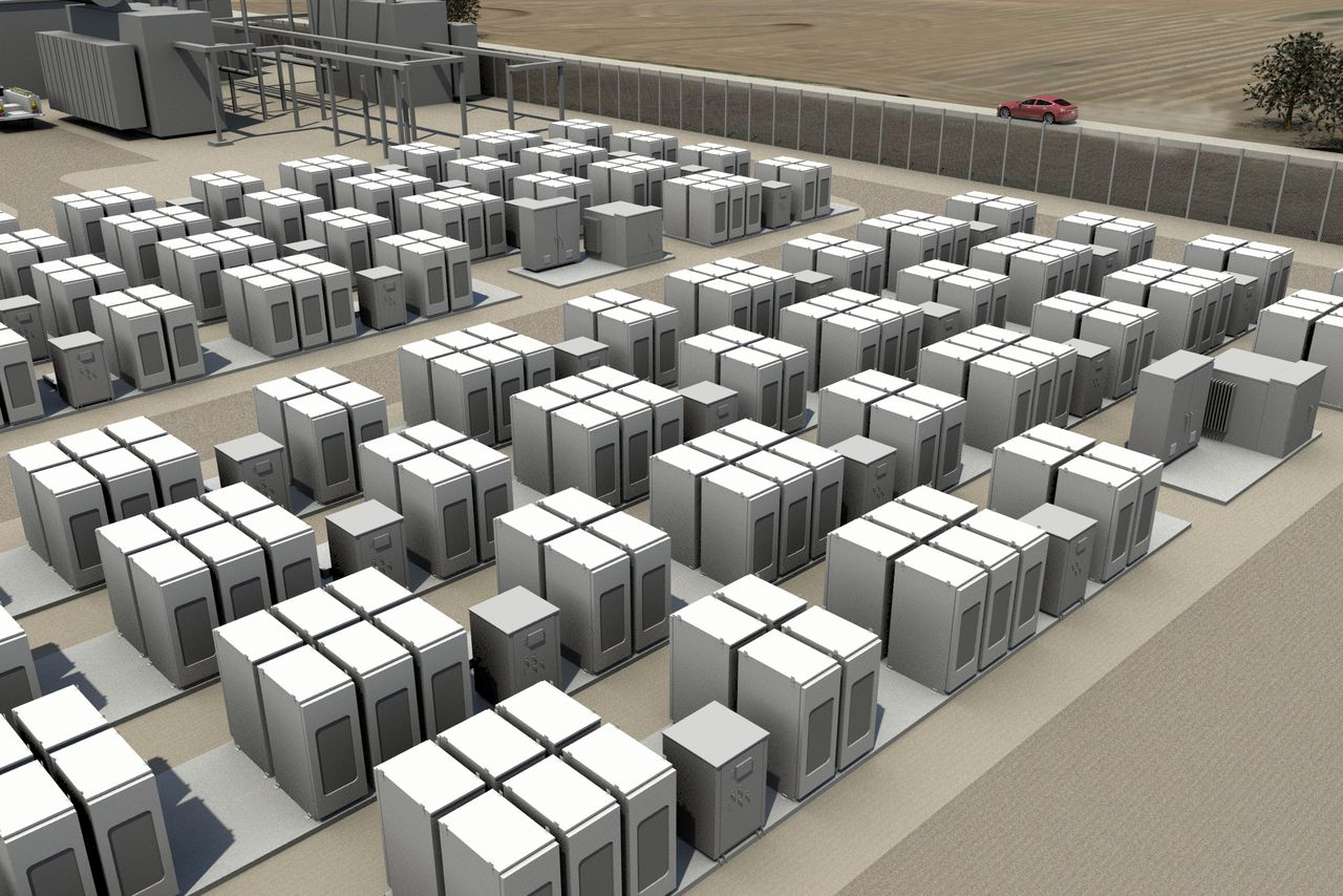 Tesla to Complete Massive Lithium-Ion Battery Storage Project in California