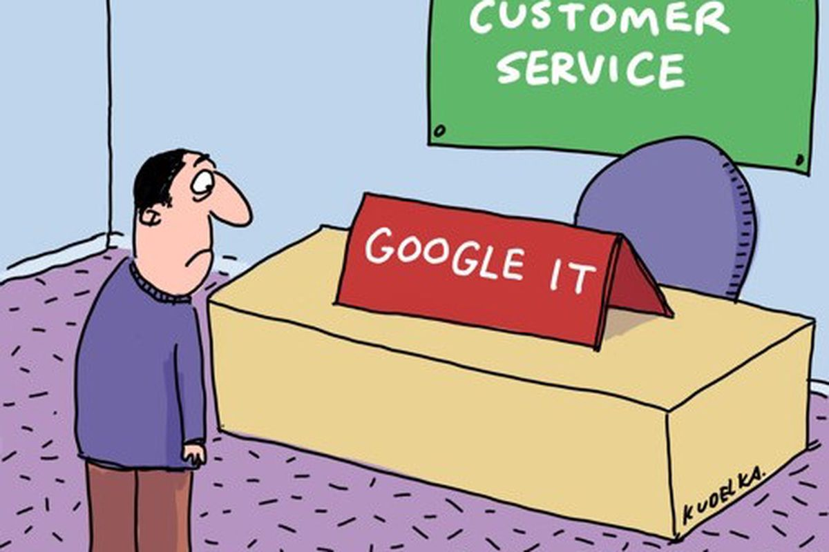 time for google to have consumer facing customer service recode it s nearly impossible to contact google for help no direct email no phone support not even chat you re basically on your own