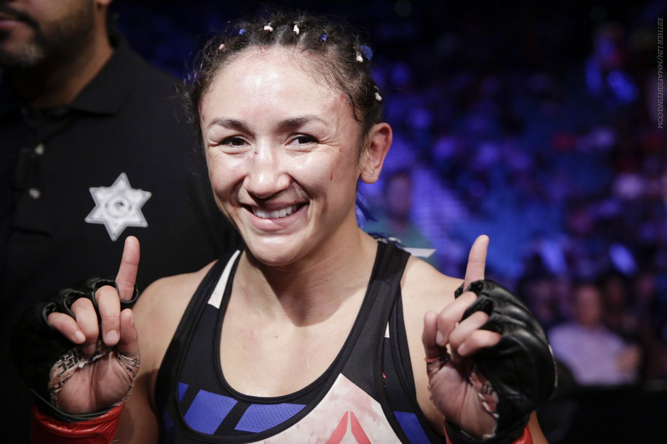 Carla Esparza, Maryna Moroz set to face off at UFC Fight Night 112