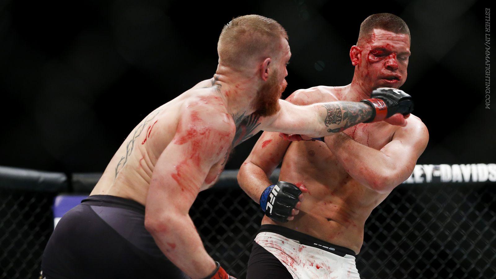 conor mcgregor vs nate diaz full fight