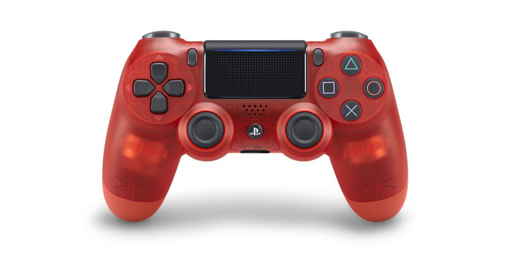 Sony is releasing three new translucent PS4 controllers this month