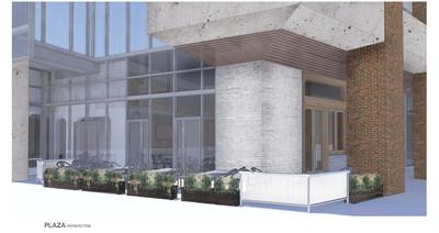 Exterior rendering of C. Ellet's.