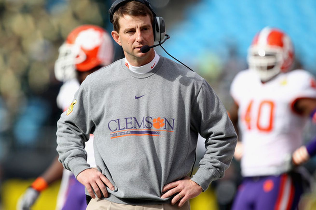 Dabo Swinney ticket led to firing, says police officer ...