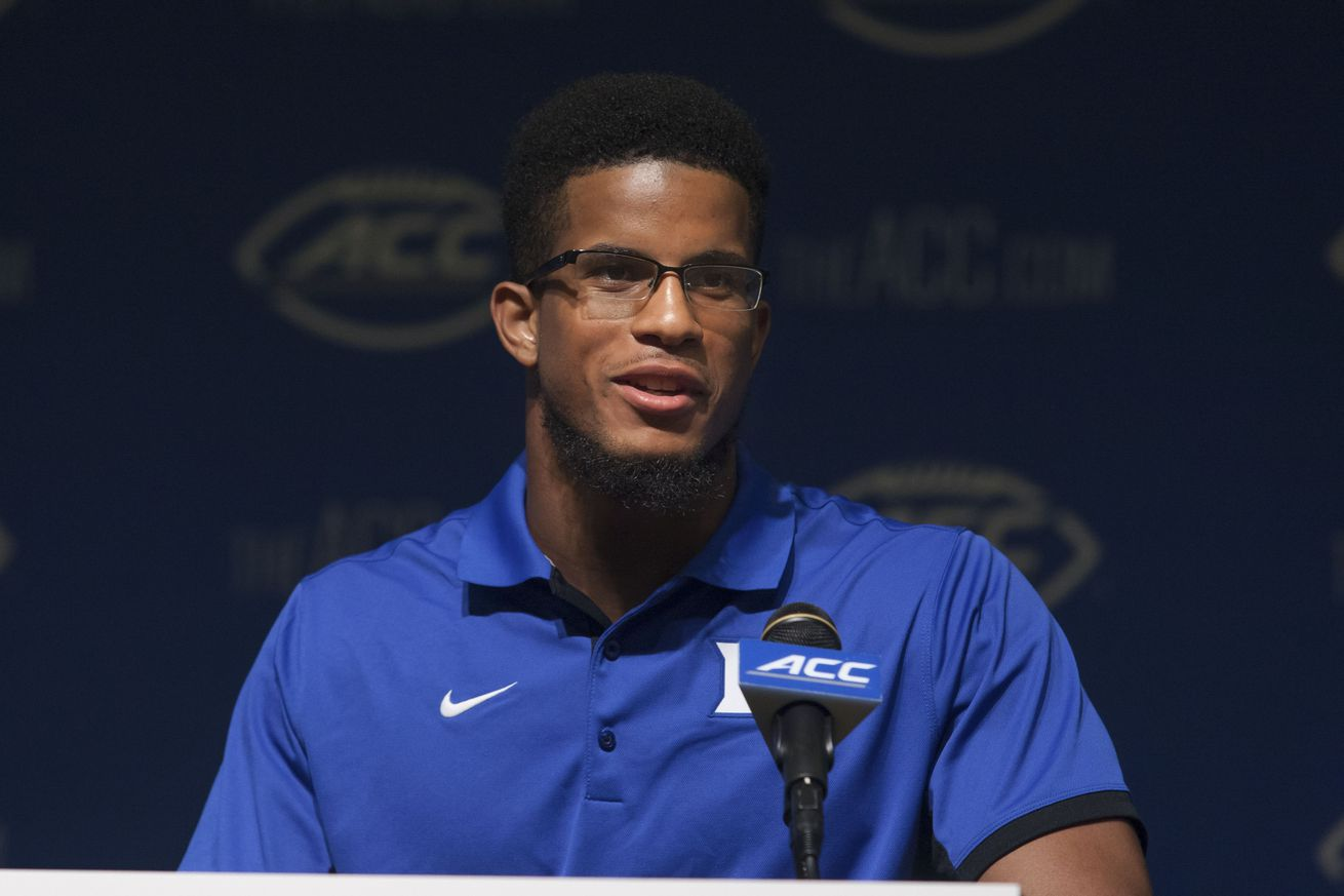 Official Nike Jerseys Cheap - Duke's Jeremy Cash And A Bit Of Stray Anger Dominate ACC Football ...