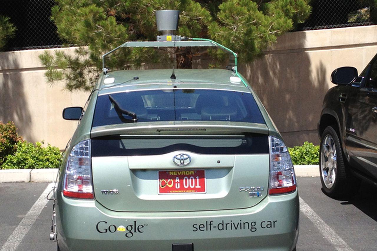 nevada dmv grants first self driving car testing license to google the verge. Black Bedroom Furniture Sets. Home Design Ideas