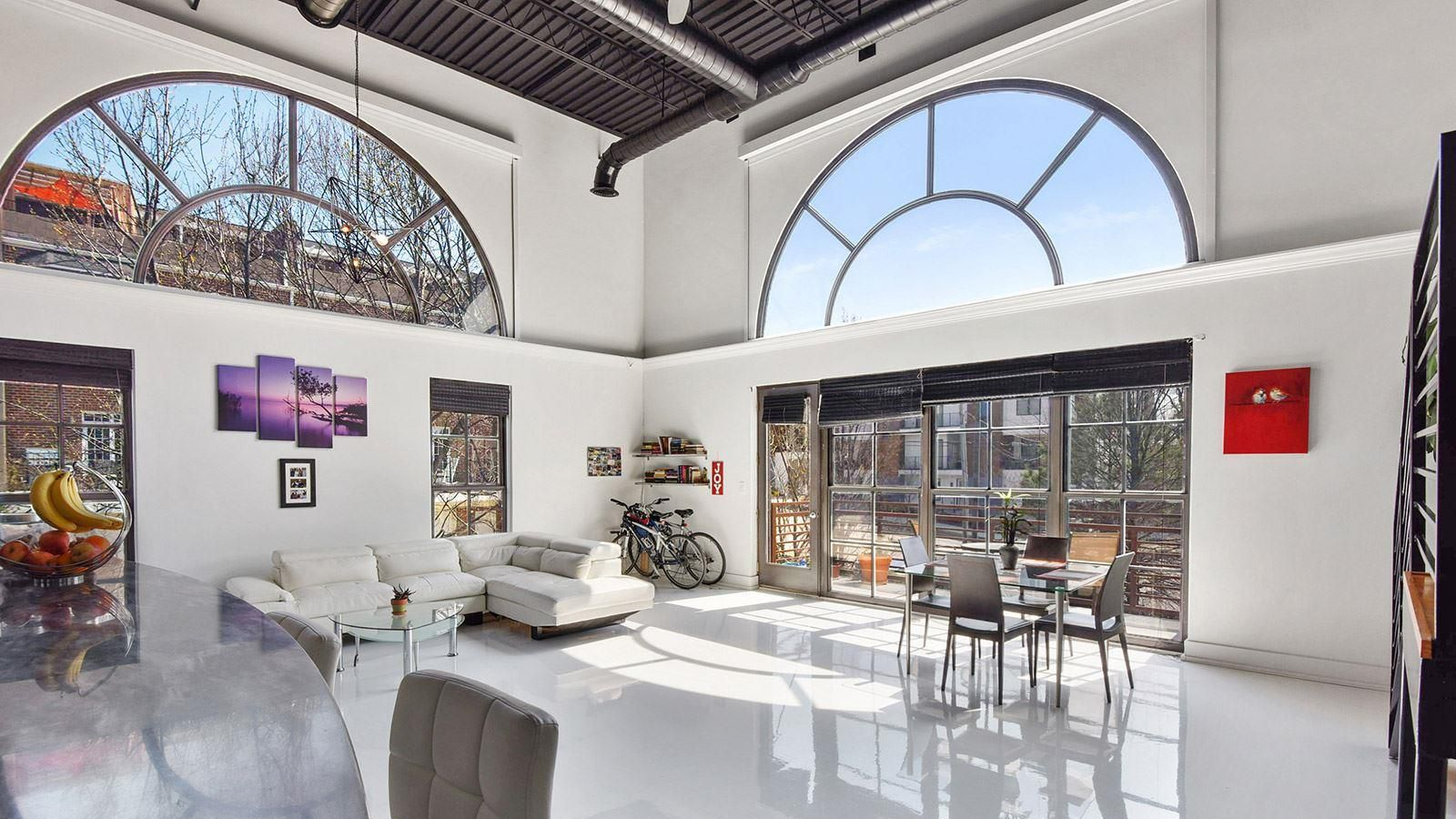 Poised Above Ponce City Market Airy Poncey Highland Loft