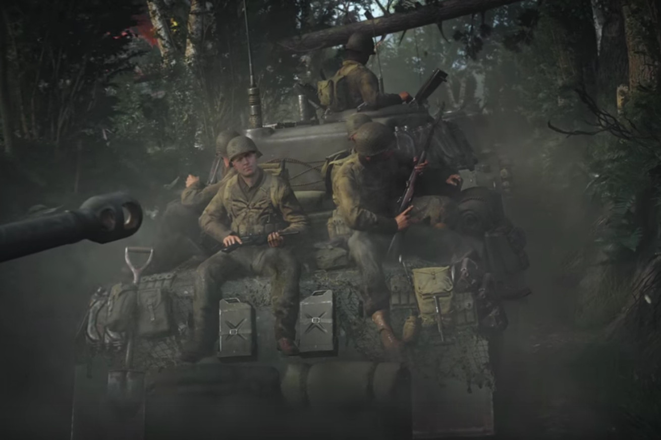 watch the first trailer for call of duty wwii