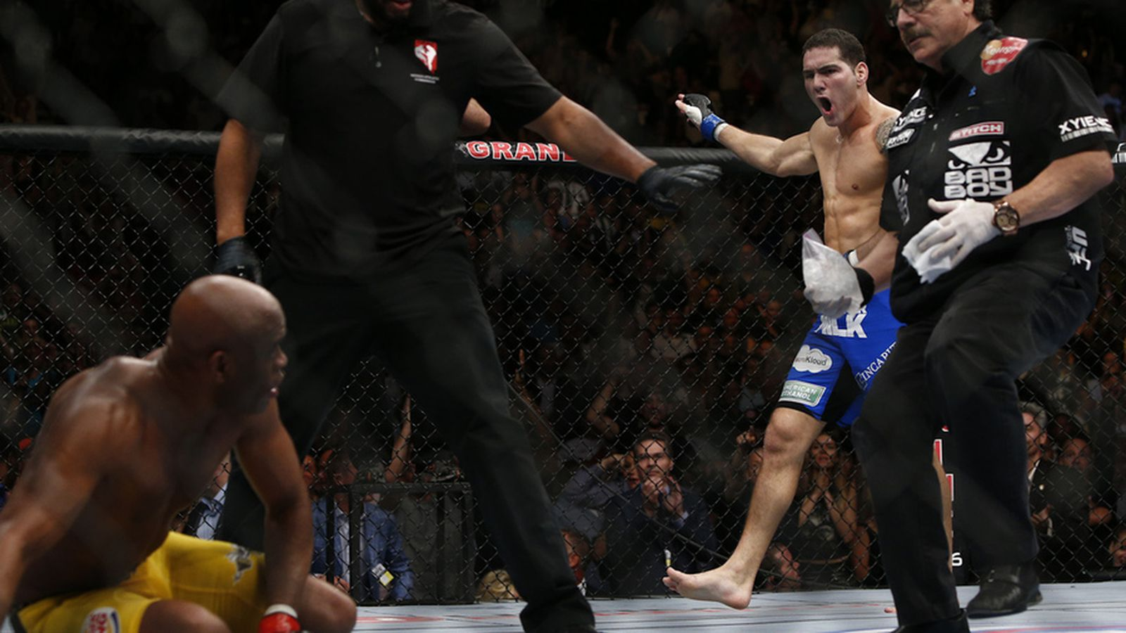 Chris Weidman Wallpaper Chris Weidman Trainer Older