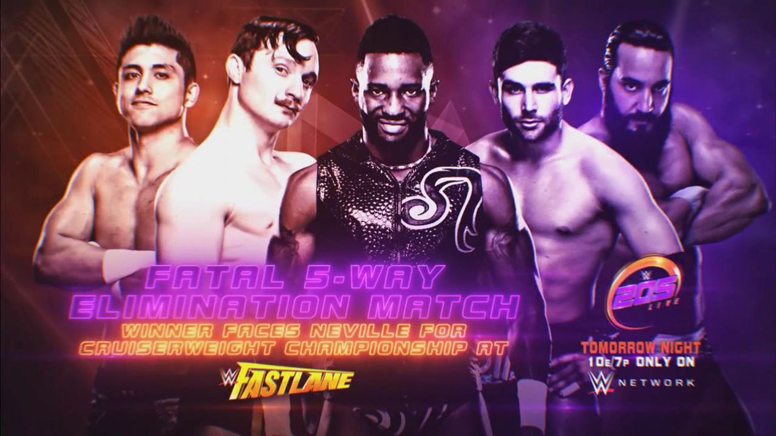 WWE 205 Live results (Feb. 7, 2017): Fatal 5Way!