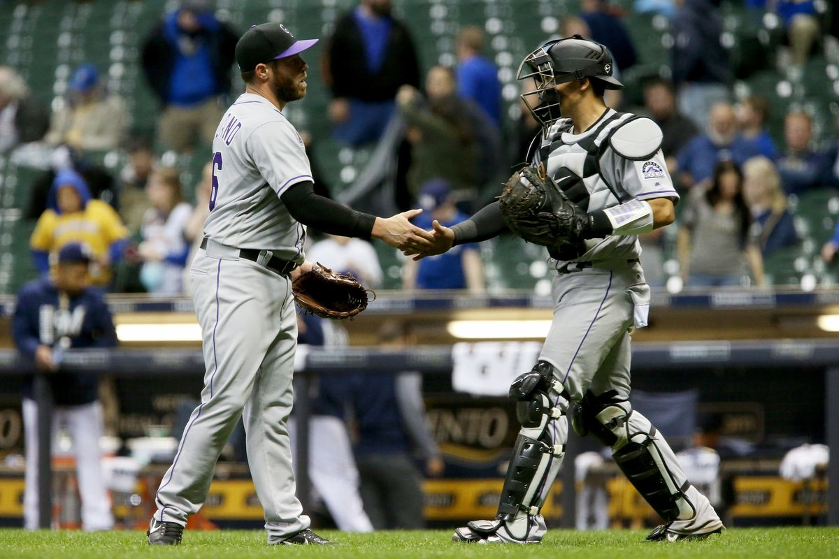 Late homer allows Rockies to defeat Brewers
