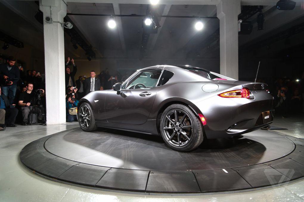 Mx 5 Rf Price >> Mazda unveils the MX-5 RF, a Miata with a gorgeous targa top | The Verge