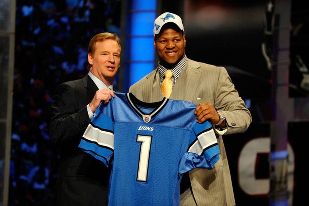 NFL Jerseys - A Look Back: Detroit Lions' 2010 NFL Draft Picks - Pride Of Detroit