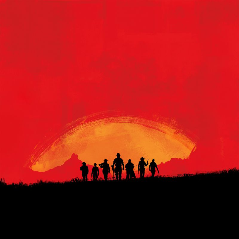 Red Dead Redemption silhouette teaser 2560