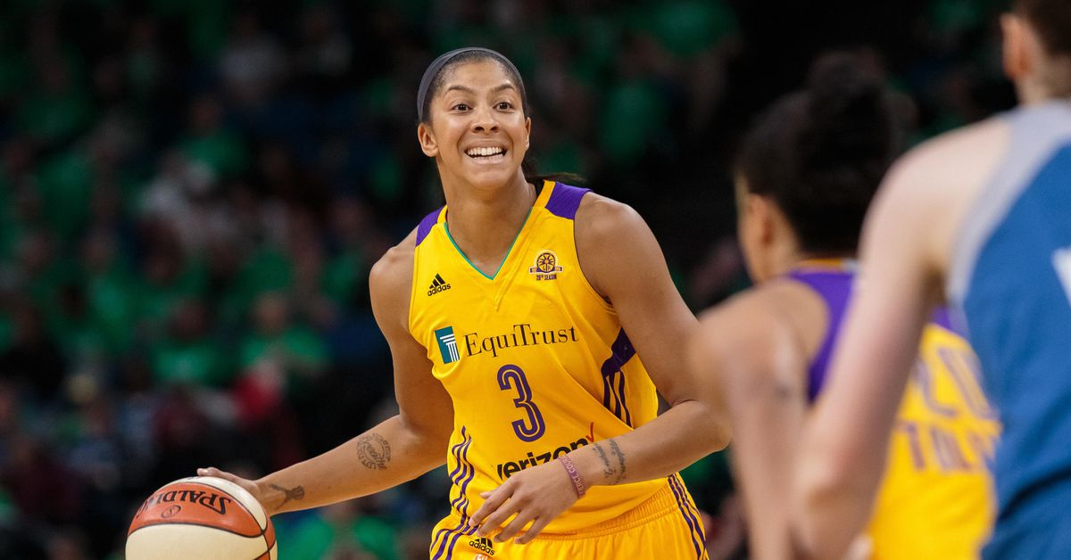 Candace Parker knows the spotlight, and she owned it Game 2 of WNBA semifinals
