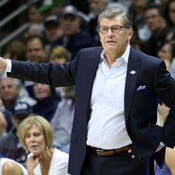 UConn head coach Geno Auriemma