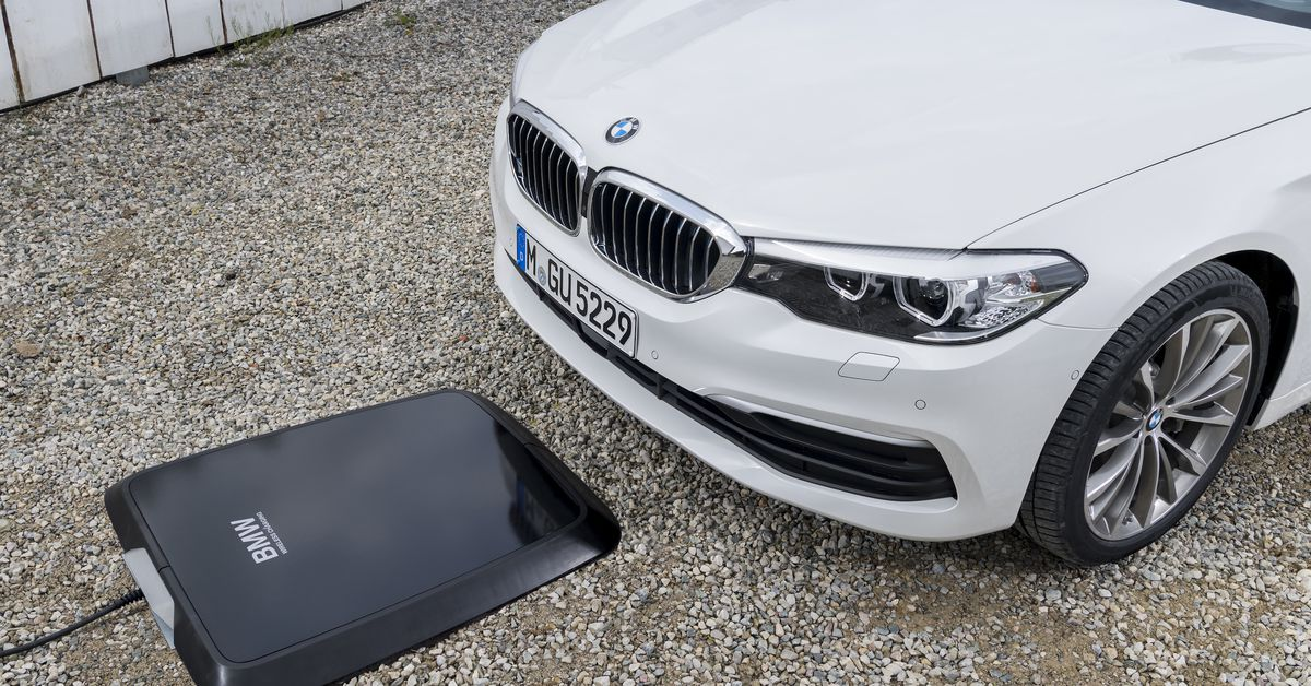 BMW is set to offer a pad to wirelessly charge your car
