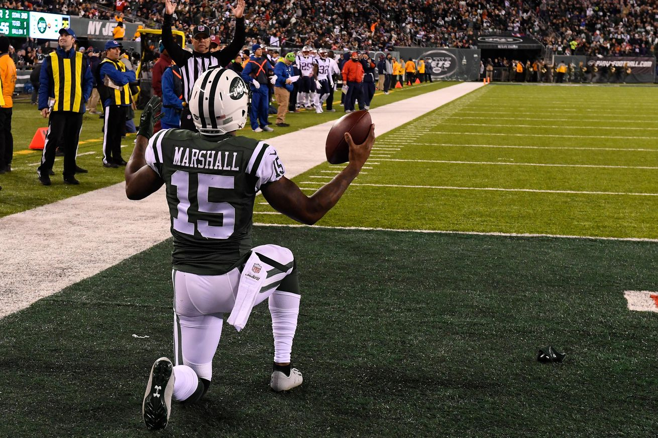 Brandon Marshall, Breno Giacomini Among Jets Who Missed Practice Thursday