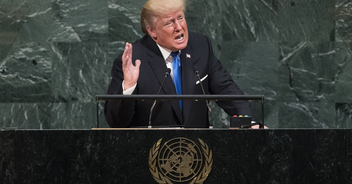 Trump's message to the world at the UN: every country is on its own