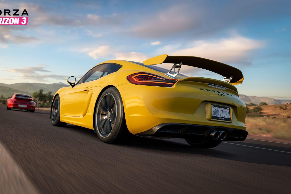 Forza Horizon 3 Adds Porsche Car Pack To Kick Off Porsche/Microsoft Partnership