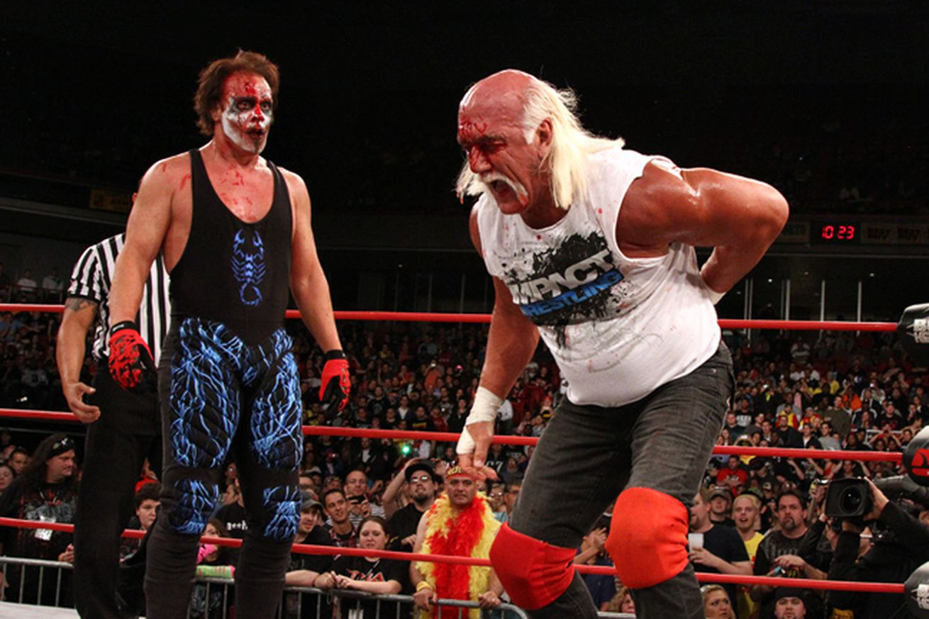 Tna S Hulk Hogan Serious About Wrestling Again In 2013