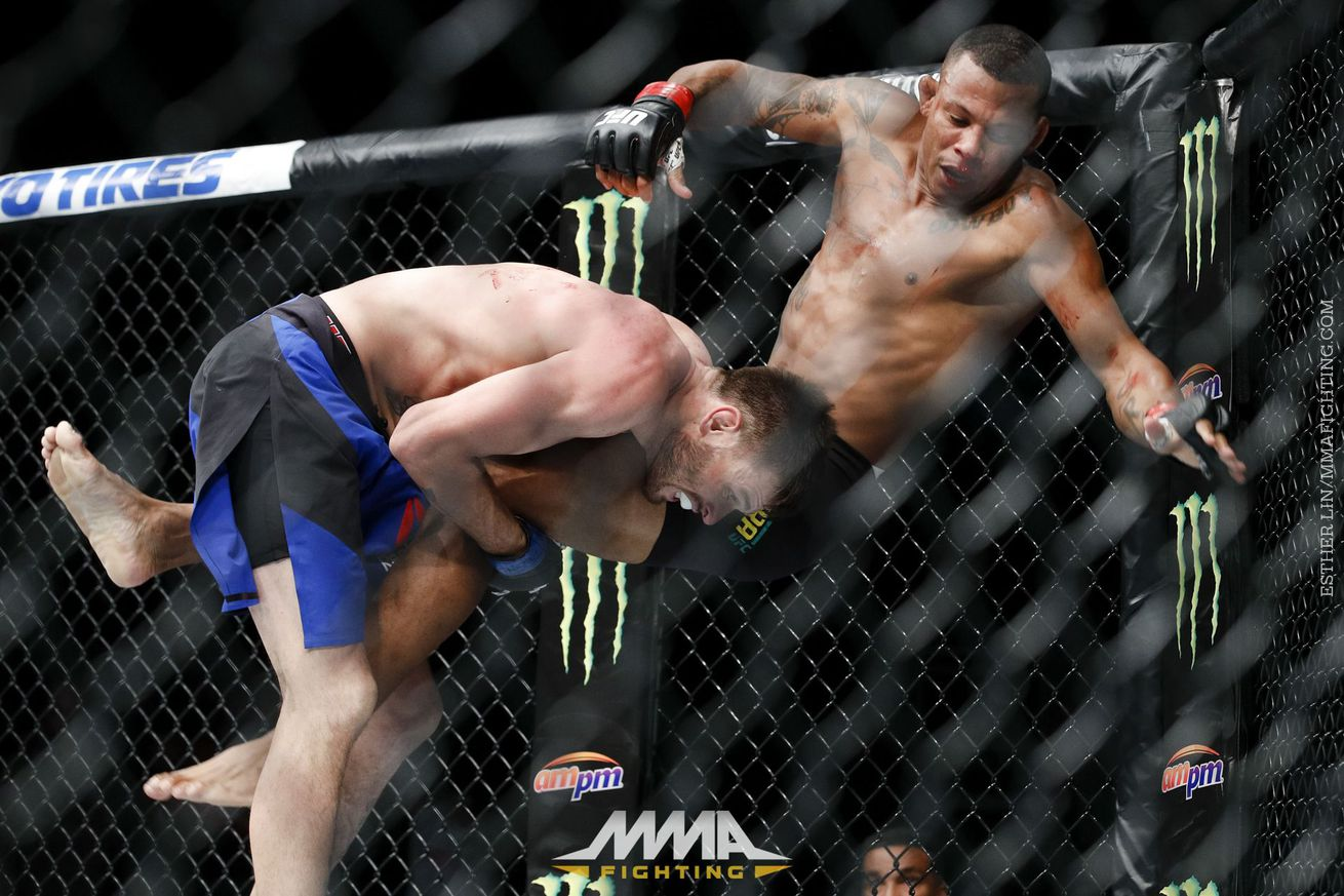 community news, Alex Oliveira wants to teach Tim Means a lesson after illegal knee: 'I'll beat his face up