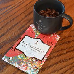 Select Nicaraguan beans at the Starbucks Reserve Bar in Brookland.