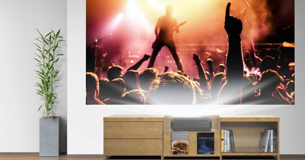 Epson's Short Throw Laser Projector is for Anyone that Wants a Giant Screen Without the Bulk
