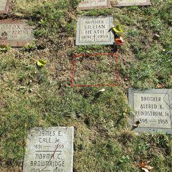 Arthur Wilson's gravesite
