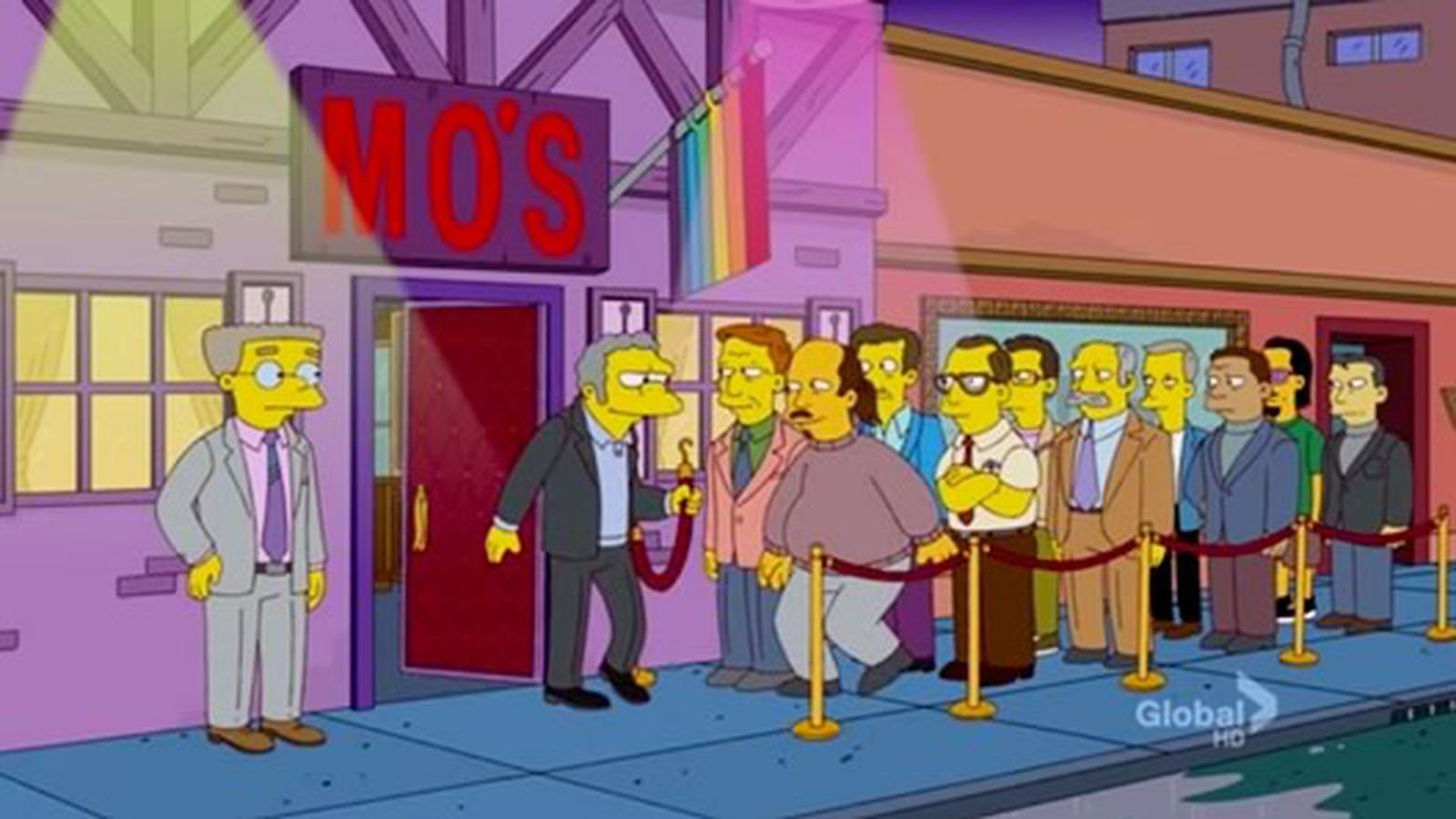 from Brantley simpsons gay bar