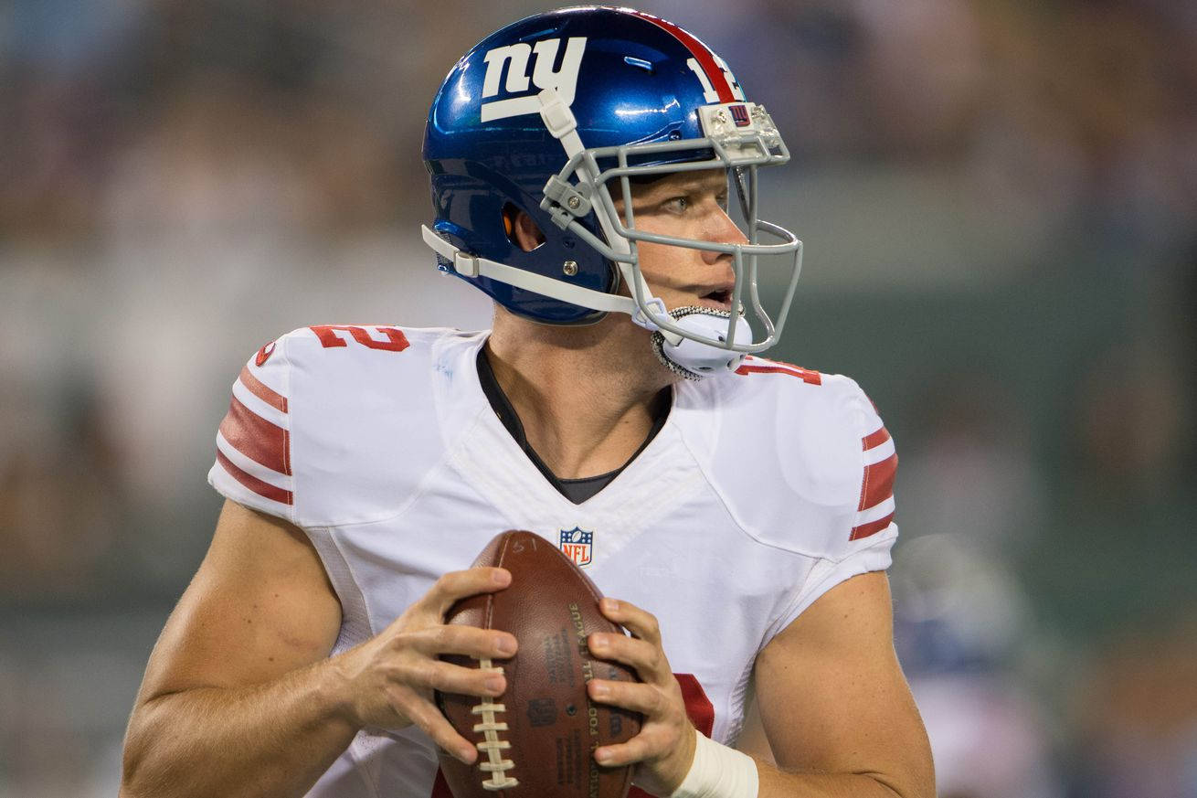 NFL Jerseys Online - Giants vs. Patriots: Ryan Nassib could use a good performance ...
