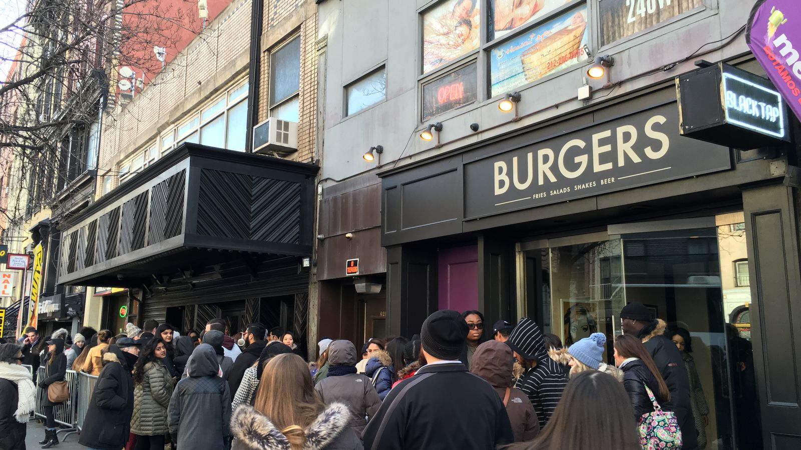 Image Result For Black Tap Craft Burgers Beer Meatpacking New York