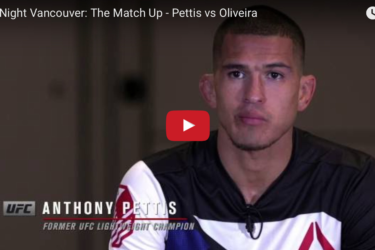 Anthony Pettis vs Charles Oliveira full fight video preview for UFC on FOX 21 co main event