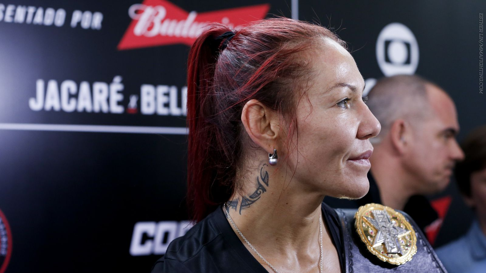Cris Cyborg cited for battery after punching Angela Magana at UFC Athlete Retreat