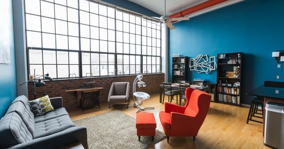 Midtown Loft In The Stuber Stone Building Asks 375k