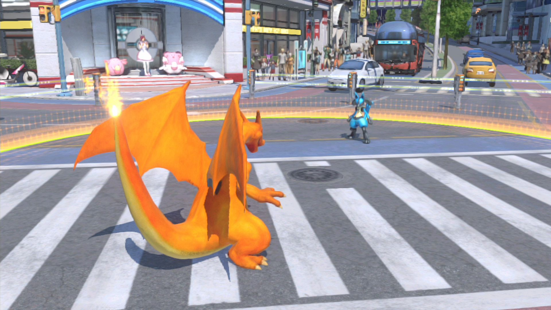 pokemon games fight